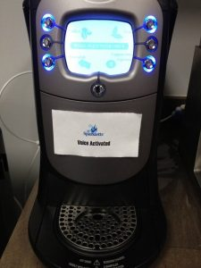 Coffee Maker's Voice Command